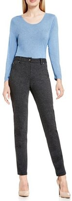 Vince Camuto Petite Women's Two By Skinny Ponte Pants