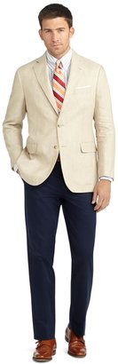 Brooks Brothers Madison Fit Two-Button Linen Sport Coat