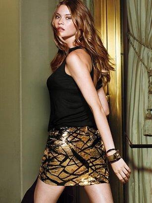 Victoria's Secret Sequin Mini Skirt