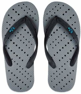 Unisex Small Dotted AquaFlops Shower Shoes in Grey $16.99 thestylecure.com