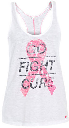 Under Armour Power In Pink Go Fight Cure Tank Top