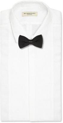 Burberry Knitted Silk Bow Tie