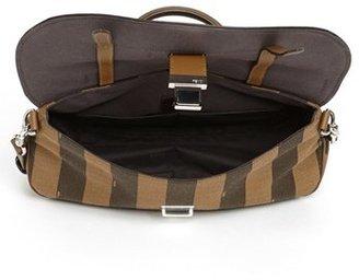 Fendi 'Pequin' Logo Jacquard Crossbody Bag