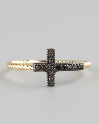 Jude Frances Integrated Cross Ring