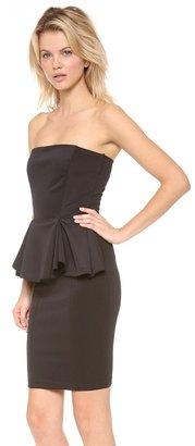 Torn By Ronny Kobo Camille Peplum Dress