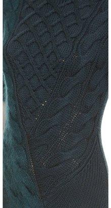 Carven Twisted Knit Dress