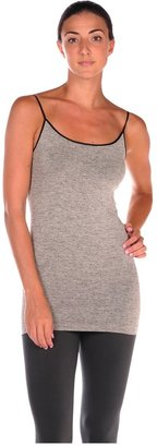 Luxe Junkie Trimmed Heathered Cami