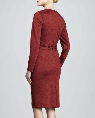 Carolina Herrera Wrapped and Draped Dress