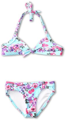 Seafolly Zesty Halter Bikini (Little Kids/Big Kids) (Ballet Blue) - Apparel