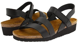 Naot Footwear Kayla (Black Matte Leather) Women's Sandals