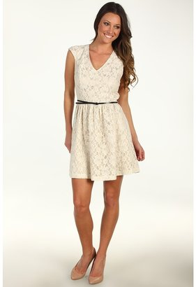 Kensie Lacey Dress (Birch Combo) - Apparel