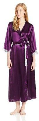 Oscar de la Renta Women's Lavish Lace Long Robe