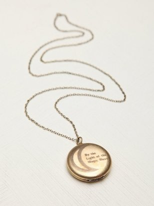 Free People Light of the Magic Hour Locket