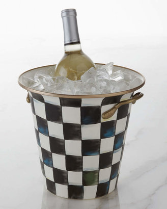 Mackenzie Childs MacKenzie-Childs Courtly Check Enamel Wine Cooler