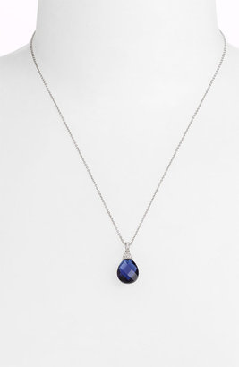 Nadri Faceted Pendant Boxed Necklace (Nordstrom Exclusive)