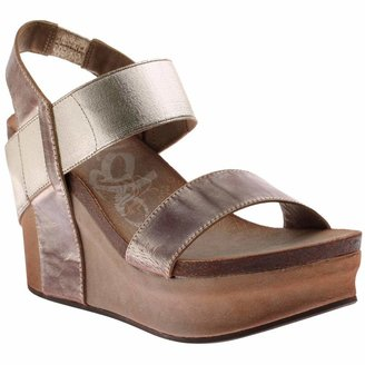 OTBT Women's Bushnell Wedge Sandals - Gold - 6 M US