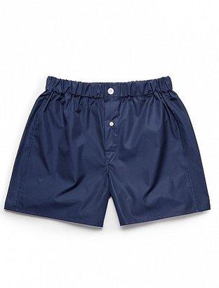 Emma Willis Navy Superior - Patchwork Boxer Shorts