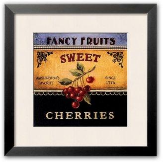 "Art.com Sweet Cherries"" Framed Art Print by Kimberly Poloson"