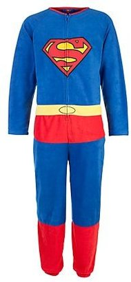 New Look Blue Superman Onesie