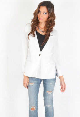 Elizabeth and James Athena Blazer in Bone