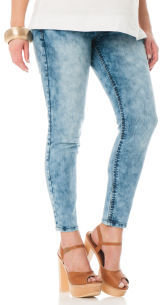 Motherhood Wallflower Secret Fit Belly® Acid Wash Maternity Jeans