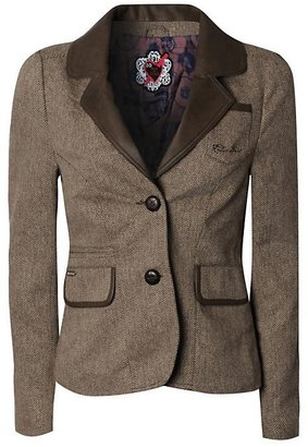 Red or Dead Baize Tweed Blazer