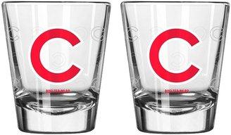 Chicago Cubs 2-pc. Satin-Etch Shot Glass Set