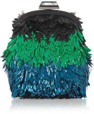 Jimmy Choo Castina sequined shoulder bag