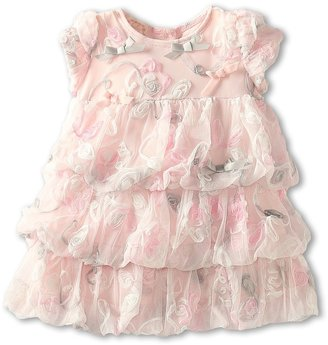 Biscotti Take A Twirl Dress (Infant) (Pink) Girl's Dress