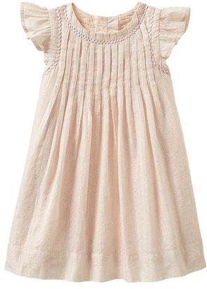 Gap Lurex pleated dress