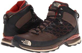 The North Face Havoc Mid GTX XCR (Demitasse Brown/Slick Rock red) - Footwear