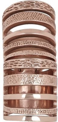 Pamela Love Rose Gold Double Cage Ring
