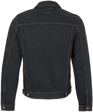 Topman Grey Denim Jacket