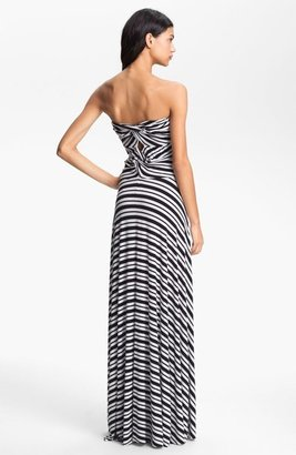Felicity & Coco Stripe Strapless Maxi Dress (Nordstrom Exclusive)