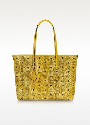 MCM Shopper Project - Animal Print Eco-Leather Tote