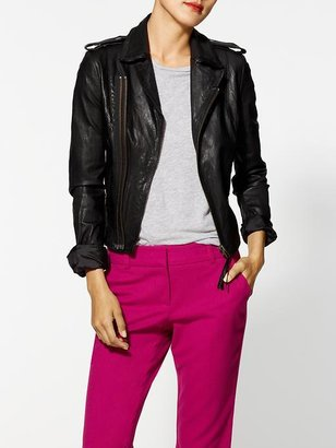 Joie Ailey Paper Leather Jacket