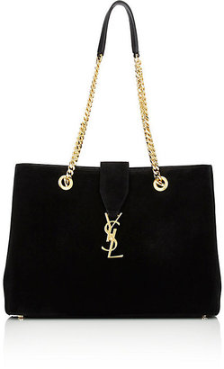 Saint Laurent Women's Monogram Tote $2,490 thestylecure.com