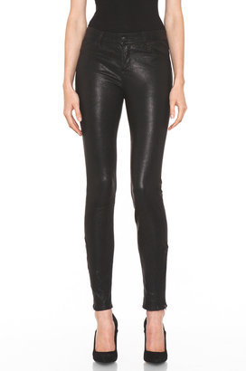 J Brand Leather Pant in Black