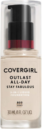 CoverGirl Outlast Stay Fabulous 3-In-1 Foundation $11.99 thestylecure.com