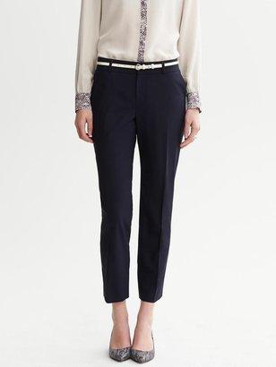 Banana Republic Jackson-Fit Navy Lightweight Wool Ankle Pant
