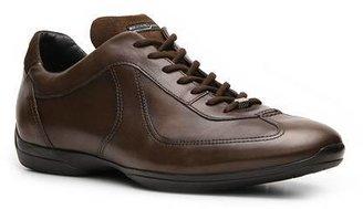 Santoni Leather Sneaker