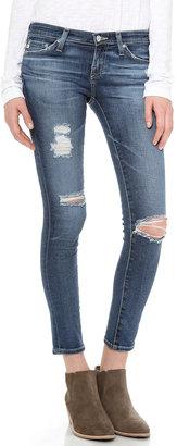 AG Ankle Legging Jeans $224 thestylecure.com