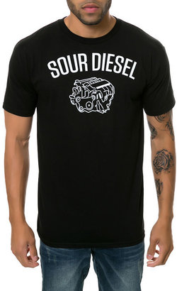 Upper Playground The Sour Diesel Tee in Black