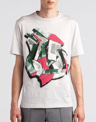 Lanvin Graffiti Slim T-Shirt
