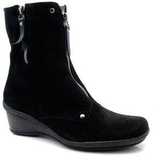 """Aquatalia by Marvin K Aquatalia """"Mint"""" Black Suede Boots"""