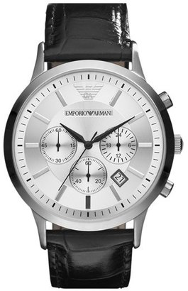 Emporio Armani Stainless Steel Watch, 43mm
