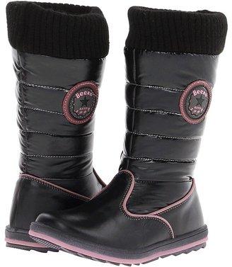 Beeko Sofia (Little Kid/Big Kid) (Black) - Footwear