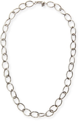 """Armenta Sterling Silver Twisted Link Necklace, 20""""L"""