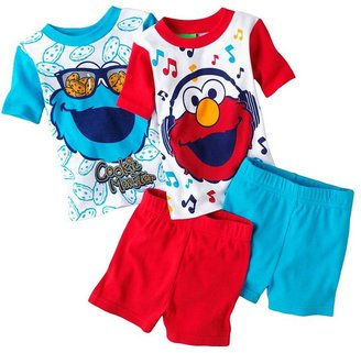 Sesame Street elmo and cookie monster pajama set - toddler