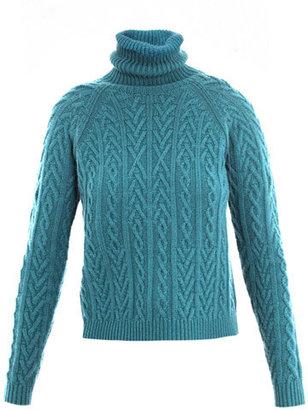 Max Mara Studio Chemzia cable-knit sweater